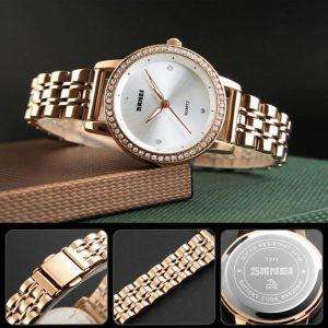 ساعت مچی عقربه ای زنانه اسکمی مدل 1311RG