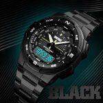 ساعت مچی دیجیتال مردانه اسکمی مدل 1370blcblc