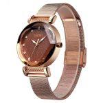ساعت مچی عقربه ای زنانه اسکمی مدل 9188 Brown