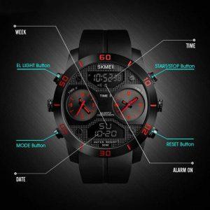 ساعت مچی عقربه ای مردانه اسکمی مدل 1355 کد R