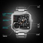 ساعت مچی عقربه ای مردانه اسکمی مدل 1392S