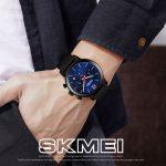 ساعت مچی عقربه ای مردانه اسکمی مدل 9203S